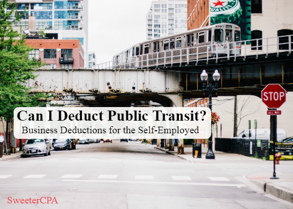 Deducting Travel Expenses When You Use Public Transit